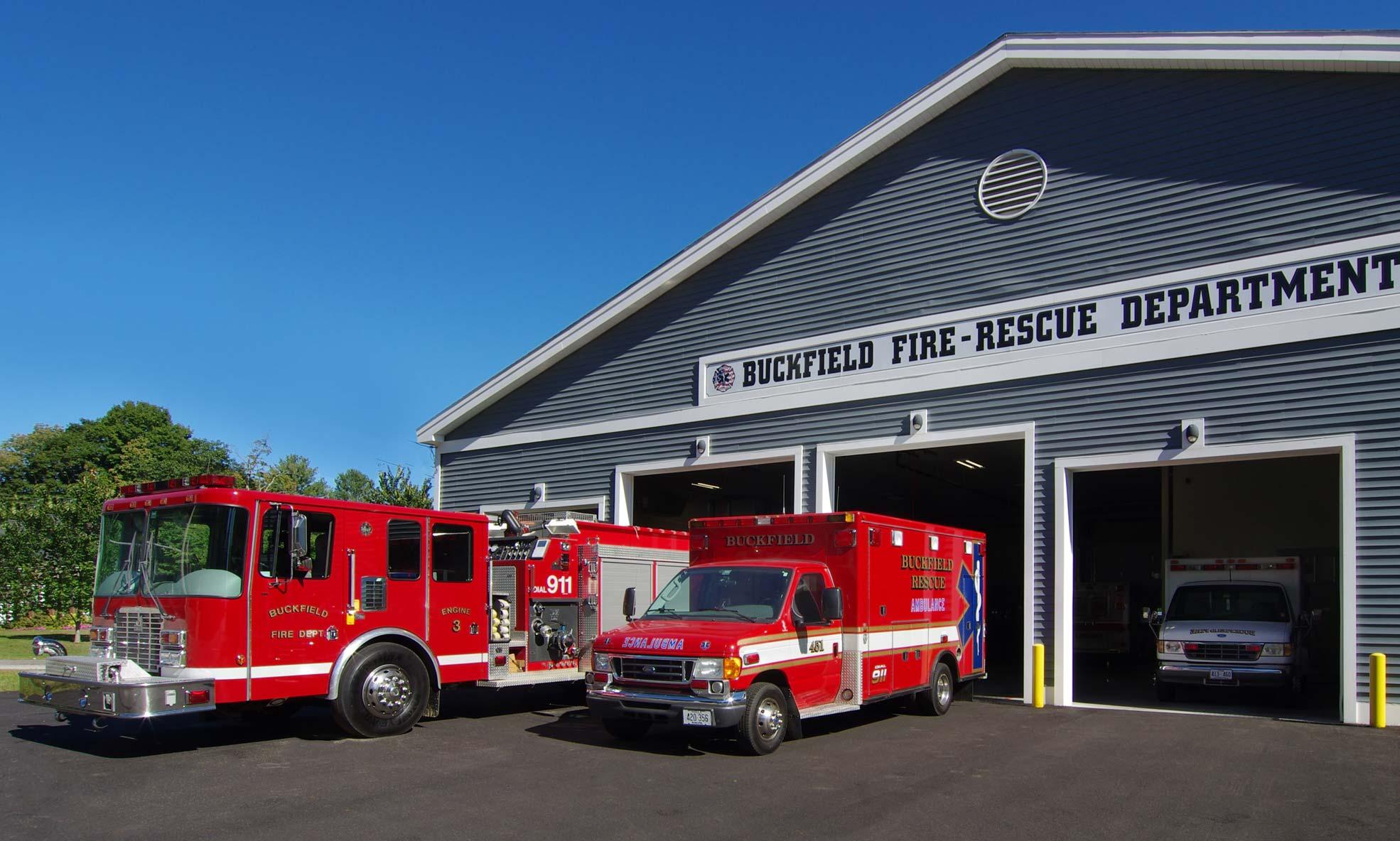 Buckfield Fire Station Port City Architecture