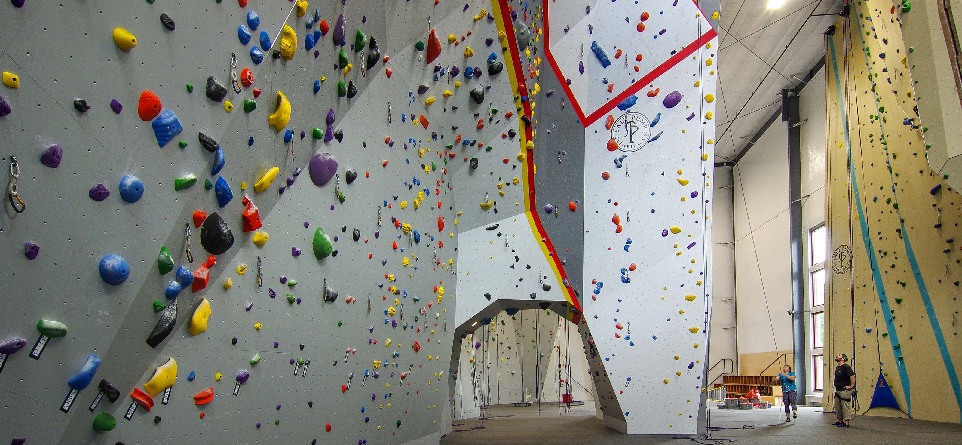 Salt Pump Climbing Gym