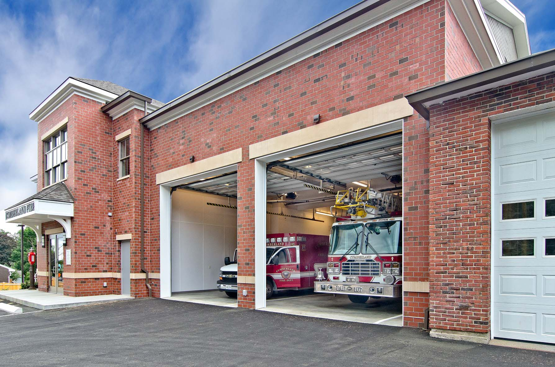 Cumberland Fire Station - Port City Architecture